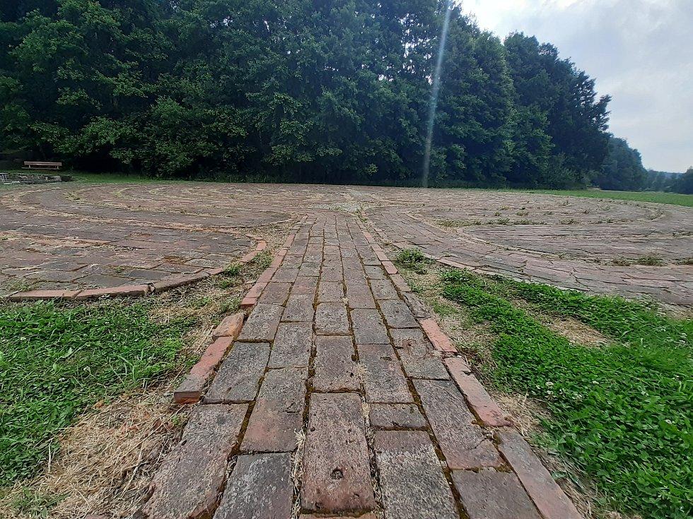 Křesťanský labyrint.
