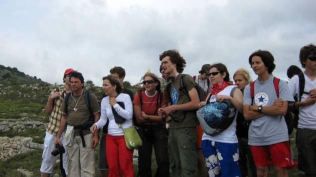 Studenti navštívili v rámci své cesty do Monaka i Col de Vence.
