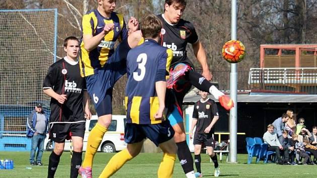 Slezský FC Opava B – SK Hranice 2:1