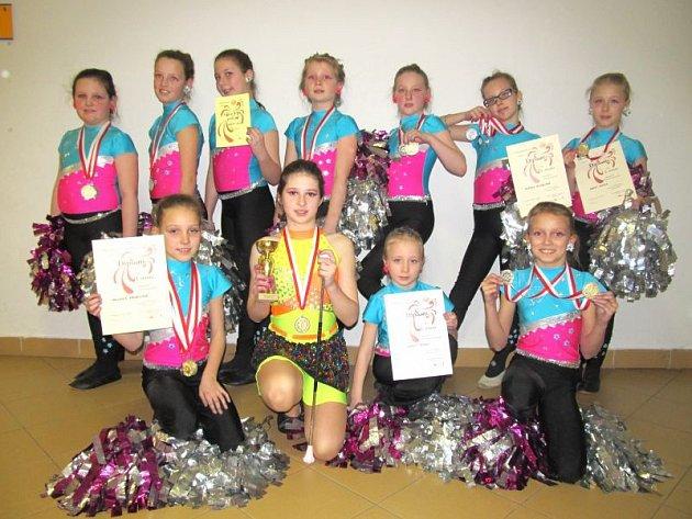 Mažoretky Roses na soutěži startovaly celkem devětadvacetkrát a získaly celkem čtyřiadvacet medailí.