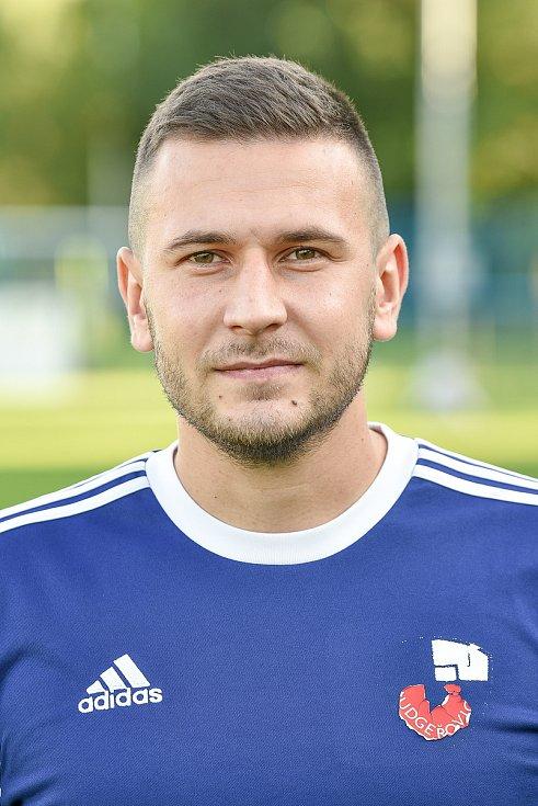 Fotbalový klub TJ Ludgeřovice, 10. září 2020 v Ostravě. Marian Prostředník, stoper