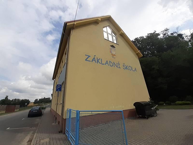 Základní škola v Oldřišově.