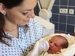 """Sofie Reinová se narodila 9. listopadu, vážila 3,86 kilogramů a měřila 50 centimetrů. """"Jen to nejlepší do života, hlavně zdravíčko a ať je šťastná,"""" přejí dceři rodiče Tereza a Martin z Opavy."""