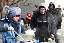 O lidi bez domova se stará i opavská Armáda spásy.