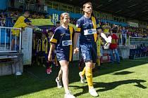Nedělní duel opavských fotbalistů s olomouckou Sigmou byl hlavně o Zdeňku Pospěchovi. Osmatřicetiletá legenda odehrála svůj poslední zápas kariéry.