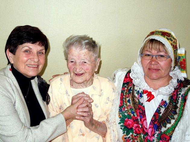 Bernardina Chorovská má přes svůj vysoký věk optimistickou povahu.