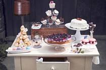 Cukrářské výrobky Terezie Diehlové jistě nabaží nejen chuťové pohárky jedlíků, ale i jejich oči.