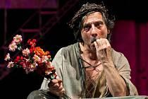 Kostas Zerdaloglu jako král Lear talentem nešetří.