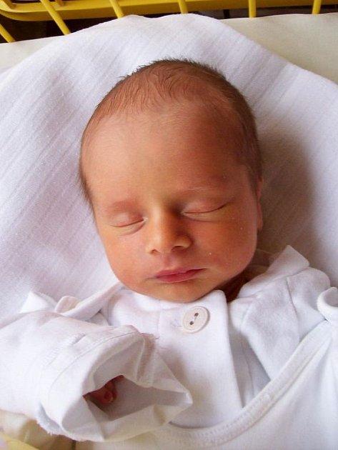 Daniel Petzuch se narodil 26. ledna, vážil 3,16 kg a měřil 51 cm.