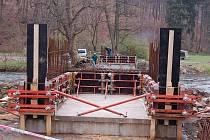 Most v Žimrovicích bude dokončen spolu s cyklostezkou 30. června.