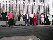 V sobotu pokračovaly v areálu Městské sportovní haly dvoudenní Havířovské slavnosti.