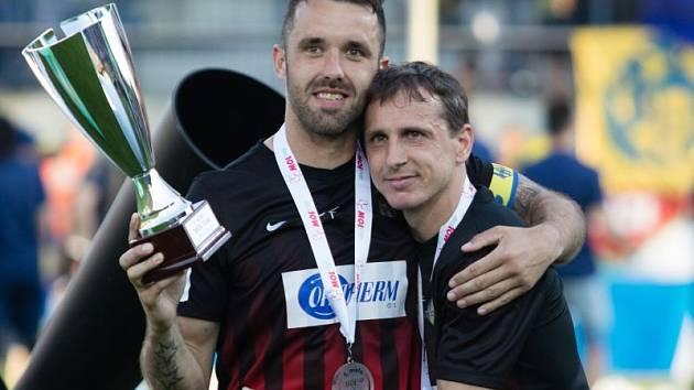 Zdeněk Pospěch (vpravo) a Jan Žídek