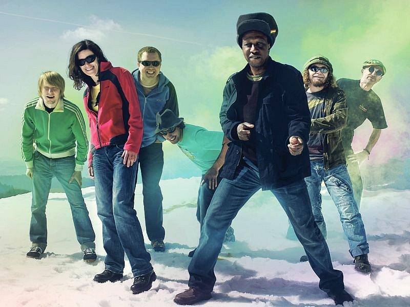 Reggae kapela Švihadlo.