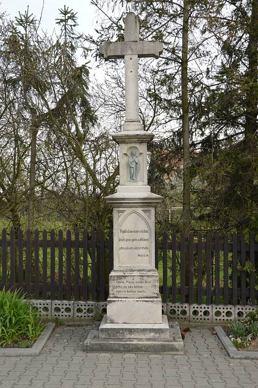 Kříž na Rybníčkách.
