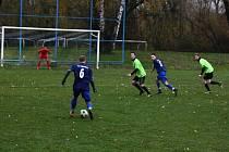 TJ Nova Vávrovice - TJ Vřesina 0:4 (0:1).