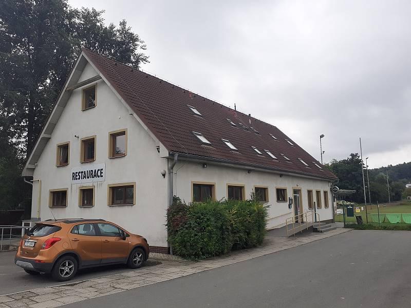 Sportovní areál v Háji ve Slezsku - restaurace Na Hřišti.