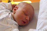 """Adam Kramný se narodil 1. května, vážil 3,69 kilogramu a měřil 53 centimetrů. """"Je to naše druhé miminko. Doma už na něj čeká sestřička Anetka. Do života přejeme miminku štěstí, zdraví a spokojenost,"""" řekli rodiče Petr a Martina Kramní z Velkých Hoštic."""