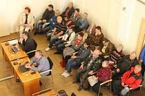 Zasedání zastupitelstva se v Opavě zúčastnili také zahrádkáři z osad Zátiší a Kateřinky.