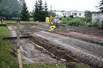 Hřiště ve Vítkově by mělo být hotovo na konci listopadu.