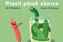 Titulní strana veršované sbírky pro děti.
