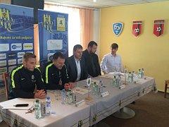 Tisková konference klubu SFC Opava