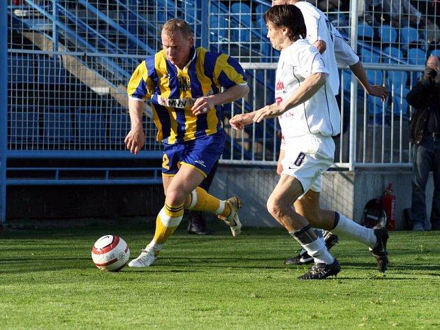 Opavští fotbalisté prohráli v neděli na Bohemians 3:0 a jejich jarní série skončila. Nic na tom nezměnil ani útočník Tomáš Janoviak.