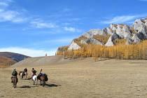 Mongolsko je krásná země.