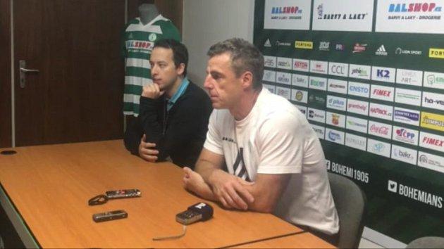 Videohlasy po zápase Bohemians Praha – SFC Opava
