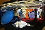 Jednotka Sboru dobrovolných hasičů z Budišova nad Budišovkou s sebou vozí také nutné vybavení k poskytnutí první pomoci.