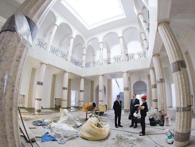Výstavní budova muzea bude po rekonstrukci patřit ke skvostům města.