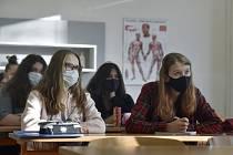 Studenti v posluchárně, ilustrační snímek.