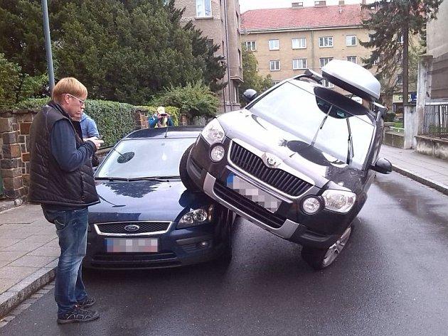I tak se dá parkovat v Opavě.