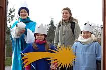 Tři králové chodili po opavských domácnostech od 1. do 13. ledna.