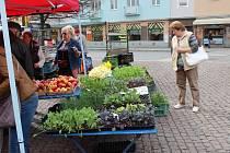 Jarní trhy. Ilustrační foto.