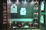 Muzeum basketbalového klubu Paoku Soluň, které je součástí haly.