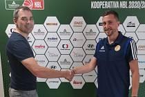 David Zach s předsedou představenstva Radimem Vysockým