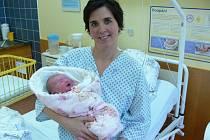 Ve Slezské nemocnici v Opavě se 1. ledna v 5.02 narodilo děvčátko jménem Rozálie Frýčková.