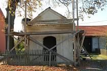Opravy kaple by měly být dokončeny letos v květnu.