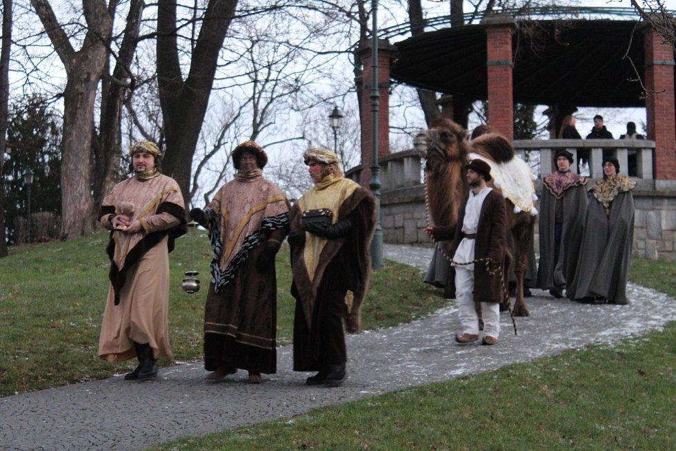 Tříkrálový průvod v Opavě.