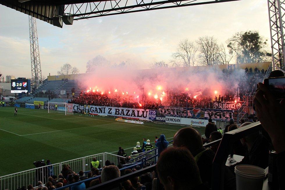 Derby SFC Opava Baník Ostrava