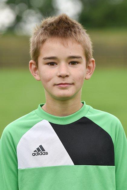 Fotbalový klub SK Viktorie Chlebičov, 9.června 2020vChlebičově. Eliáš Václavík.