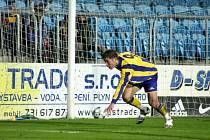Nádhernou třetí branku Slezského FC vstřelil Pavel Šultes.