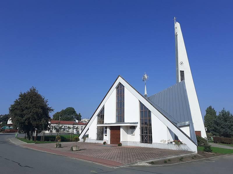 Kaple Nanebevzetí Panny Marie.