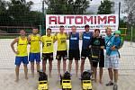 Letní pohár v Opavě ovládla brněnská dvojice Licek - Římal