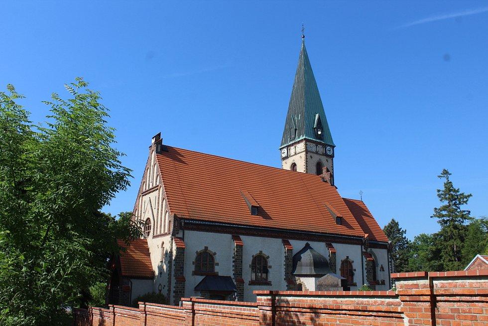 Kostel Nejsvětějšího Spasitele.