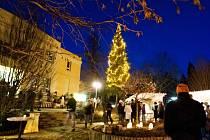 Vánoční jarmark ve Štěpánkovicích.