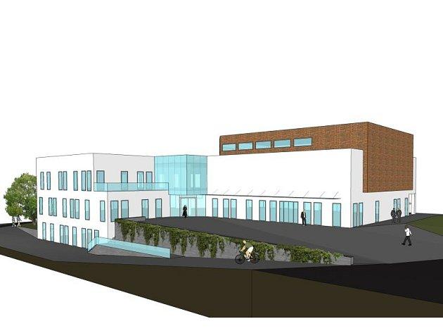 Kobeřický Obecní dům, jak se celá stavba oficiálně nazývá, by měl podle návrhů vypadat takto.