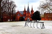 Hradec nad Moravicí má své kouzlo i v zimě.