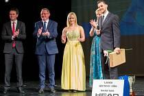 Slavnostní vyhlášení na prknech Slezského divadla v roce 2018. Ilustrační foto.
