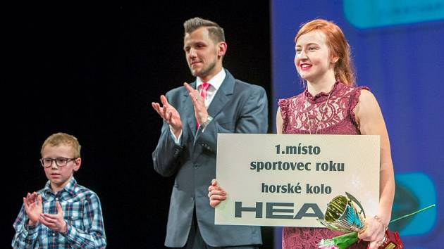 Vítězka sportovní ankety, kanoistka Terezea Brožová.